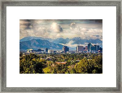Phoenix Downtown Framed Print by Fred Larson