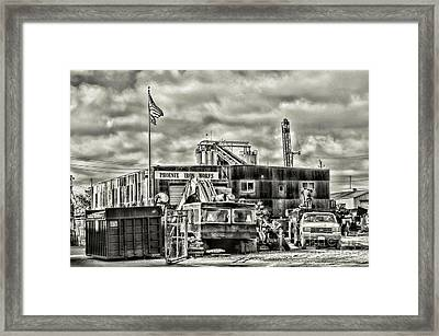 Phoenix Iron Works Framed Print