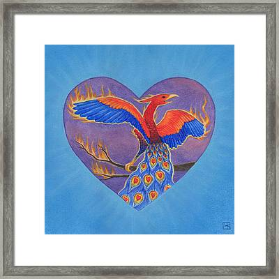 Phoenix Framed Print by Lisa Kretchman