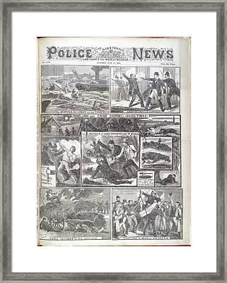 Phoenix Park Murders Framed Print