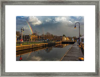 Phoenix Pot Of Gold Framed Print