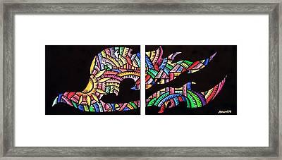 Phoenix Sf Framed Print
