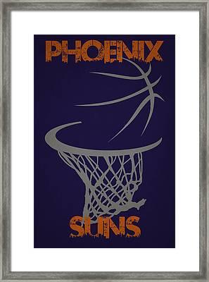Phoenix Suns Hoop Framed Print by Joe Hamilton