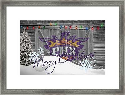 Phoenix Suns Framed Print by Joe Hamilton