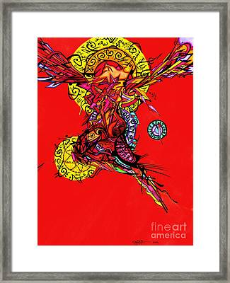 Phoenix Woman  Framed Print