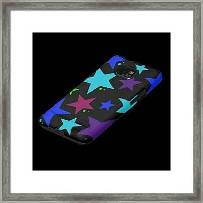 Phone Cases By Imaginationartshop.com Framed Print