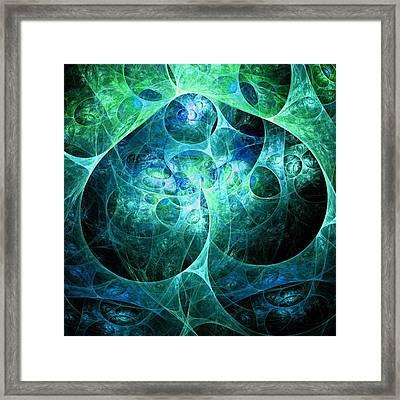 Phosphorescence Framed Print by Anastasiya Malakhova