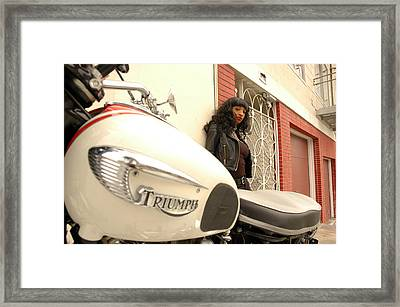 Photo Framed Print by Barrie Evans