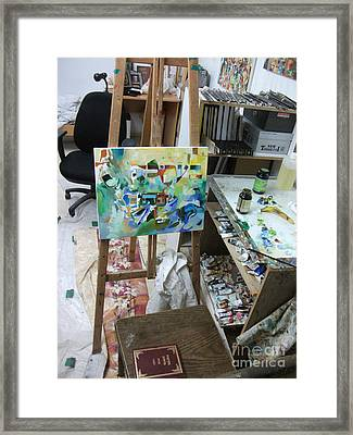 Photo Of Studio 613 Framed Print by David Baruch Wolk