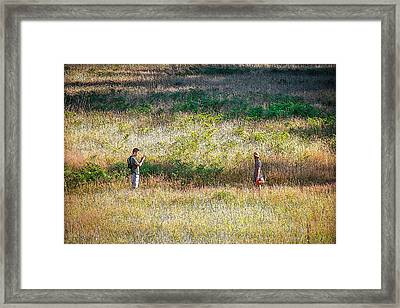 Photo Op Framed Print by CarolLMiller Photography