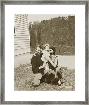 Photo Restoration Framed Print by Brenda Dorman