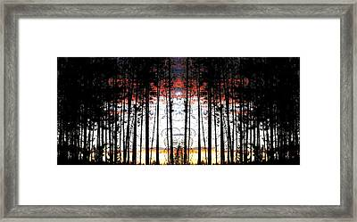 Photo Synthesis 1 Framed Print