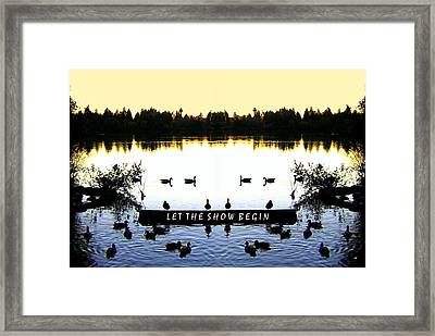 Photo Synthesis 4 Framed Print by Will Borden