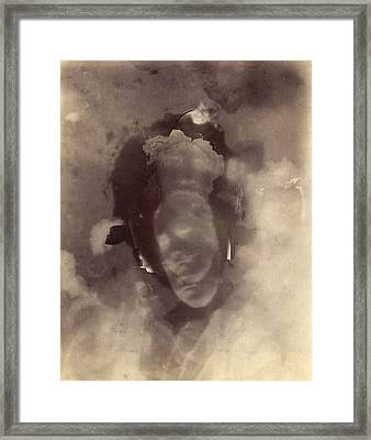 Photograph Of A Thought, C. 1894 Framed Print by Metropolitan Museum of Art