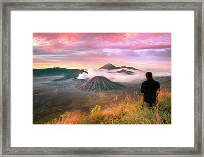 Photographer Framed Print by Anuchit Kamsongmueang