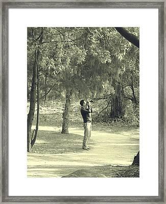 Photographer Framed Print by Girish J