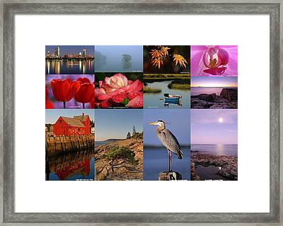 Photographing Light Framed Print by Juergen Roth