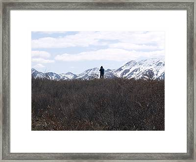 Photographing Nature   Framed Print