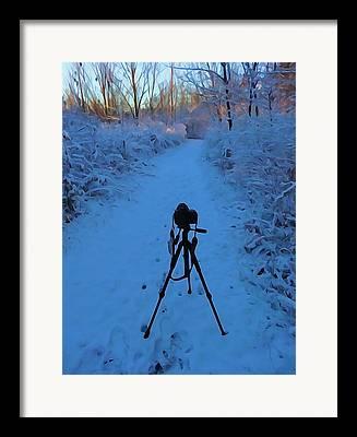 Canon 7d Digital Art Framed Prints