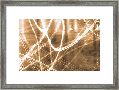 Photon Flow Framed Print by Dan Sproul