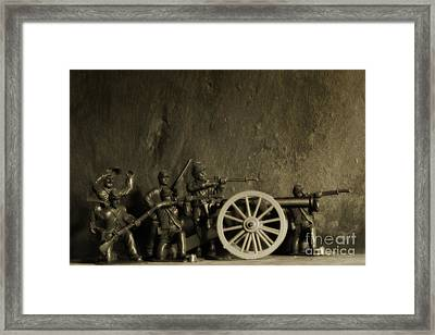 Photos From The Front Civil War Three Framed Print