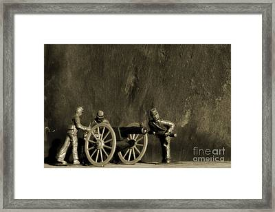 Photos From The Front Civil War Two Framed Print