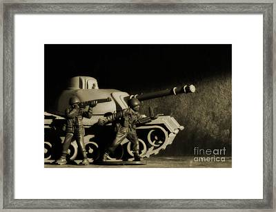 Photos From The Front World Wars  Framed Print by Randy Steele