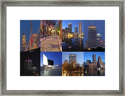 Photos Of Boston Framed Print by Juergen Roth