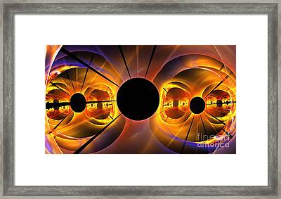 Photosphere Framed Print by Kim Sy Ok