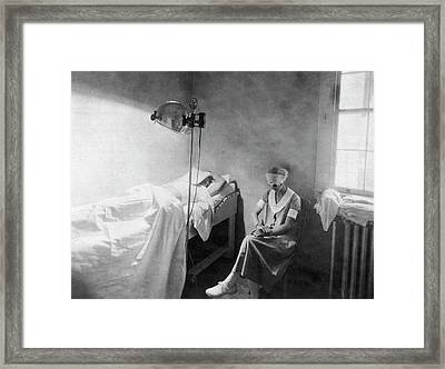 Phototherapy Treatment Framed Print by National Library Of Medicine