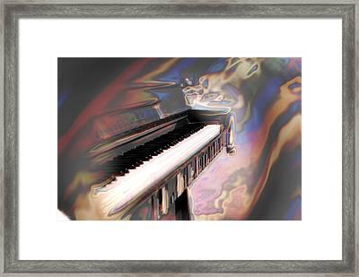 Phsyco Keys Framed Print by Frederico Borges
