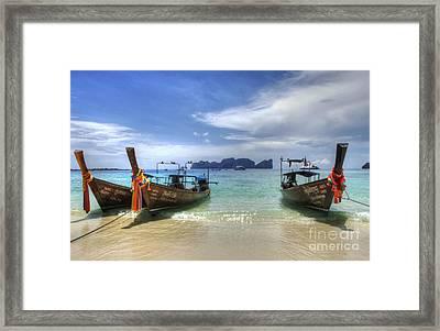 Phuket Koh Phi Phi Island Framed Print by Bob Christopher