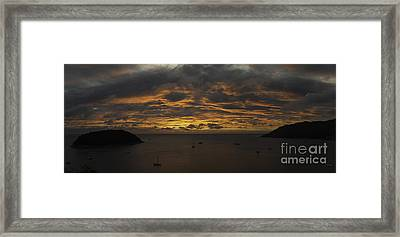 Phuket Sunset Framed Print