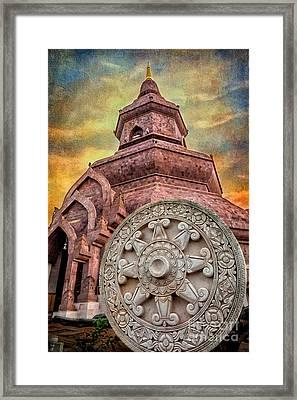 Phuttanimit Phra Saiyat Framed Print by Adrian Evans