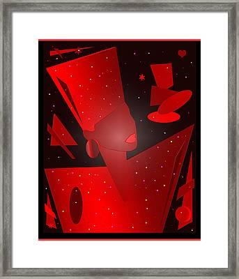 Phyllis Hyman Framed Print by Victor Bailey