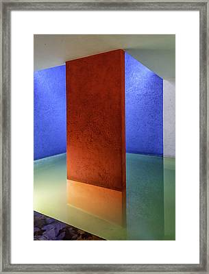 Physical Abstraction Framed Print