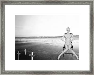 Physical Manifestations - Self Portrait Framed Print by Jaeda DeWalt