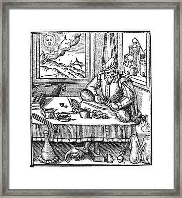 Physician, 1576 Framed Print by Granger