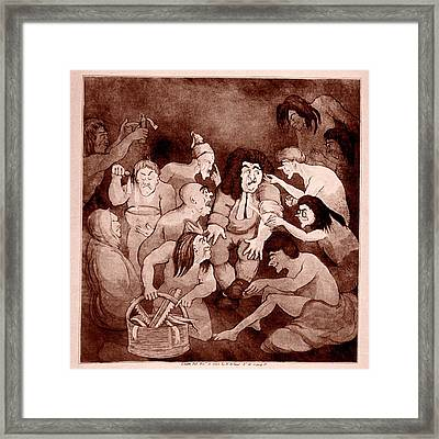 Physician In Purgatory Framed Print
