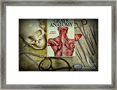 Physician - Tools Of The Trade Framed Print by Paul Ward