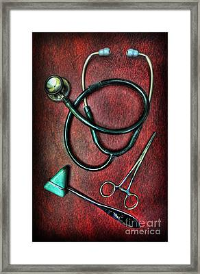 Physician's Tools  Framed Print