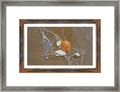 Physics Theoretical Velocity Framed Print by Betsy Knapp