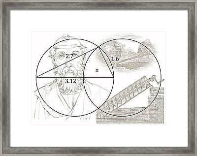 Pi Archimedes Framed Print by Daniel Hagerman