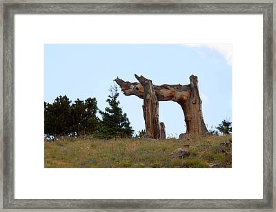 Pi In The Sky Framed Print by Jim Garrison