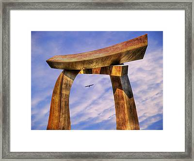 Pi In The Sky Framed Print by Paul Wear