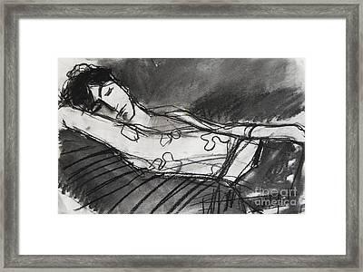 Pia #5 - Figure Series Framed Print by Mona Edulesco