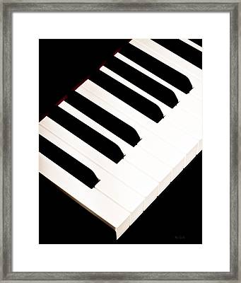 Piano Framed Print by Bob Orsillo