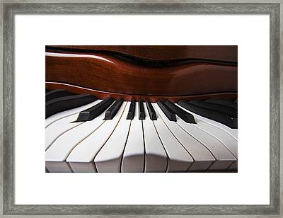 Piano Dreams Framed Print by Garry Gay