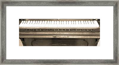Piano Man Framed Print by Dan Sproul