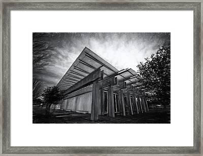 Piano Pavilion II Framed Print